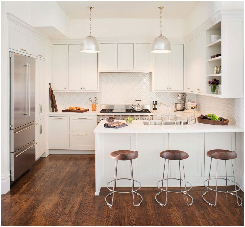 Кухня-хол с бар: оригинални идеи за интериора