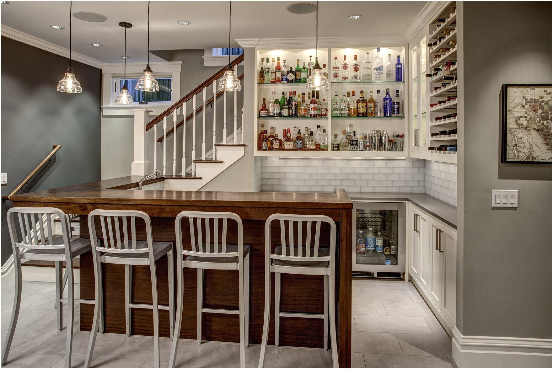 Cuisine-séjour avec bar: des idées originales pour l'intérieur