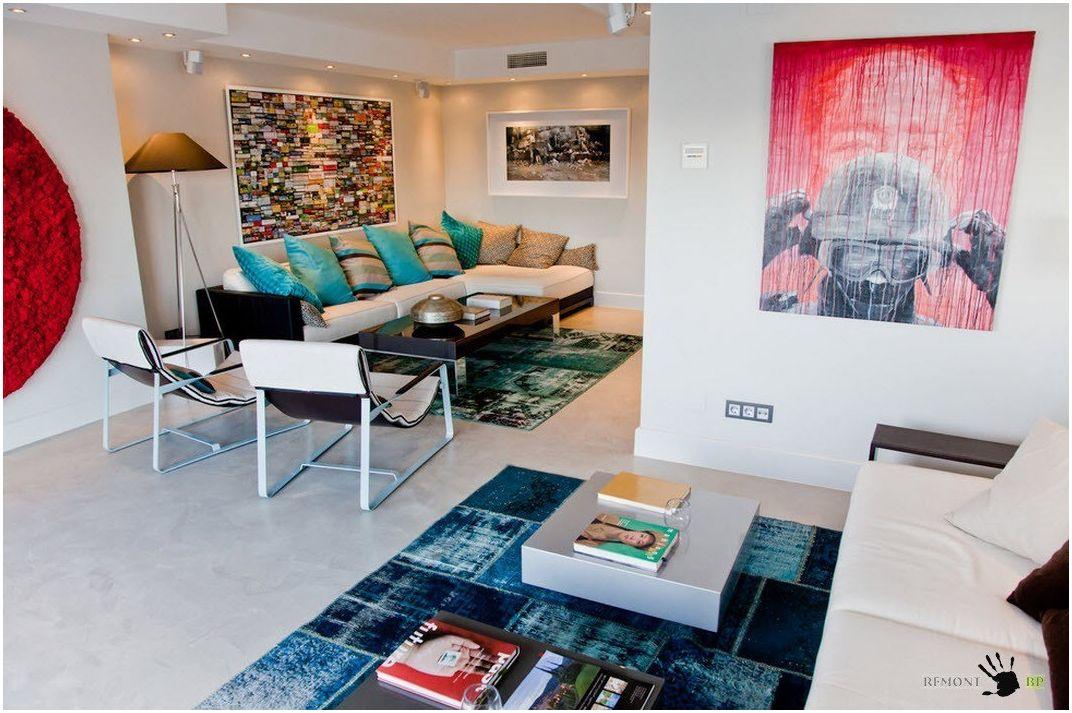 Мягкая мебель длясовременной гостиной – калейдоскоп идей