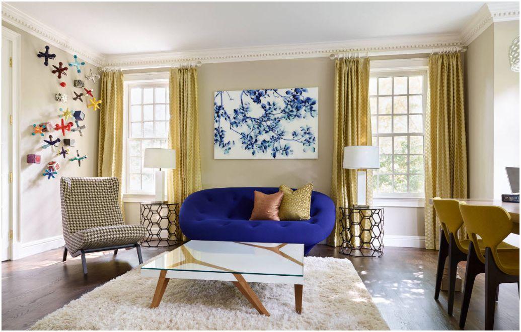 Шторы в гостиной 2019 года: актуальные модели и расцветки