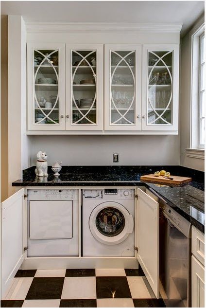 Washing machine in the kitchen: how to choose, tips and ideas-888