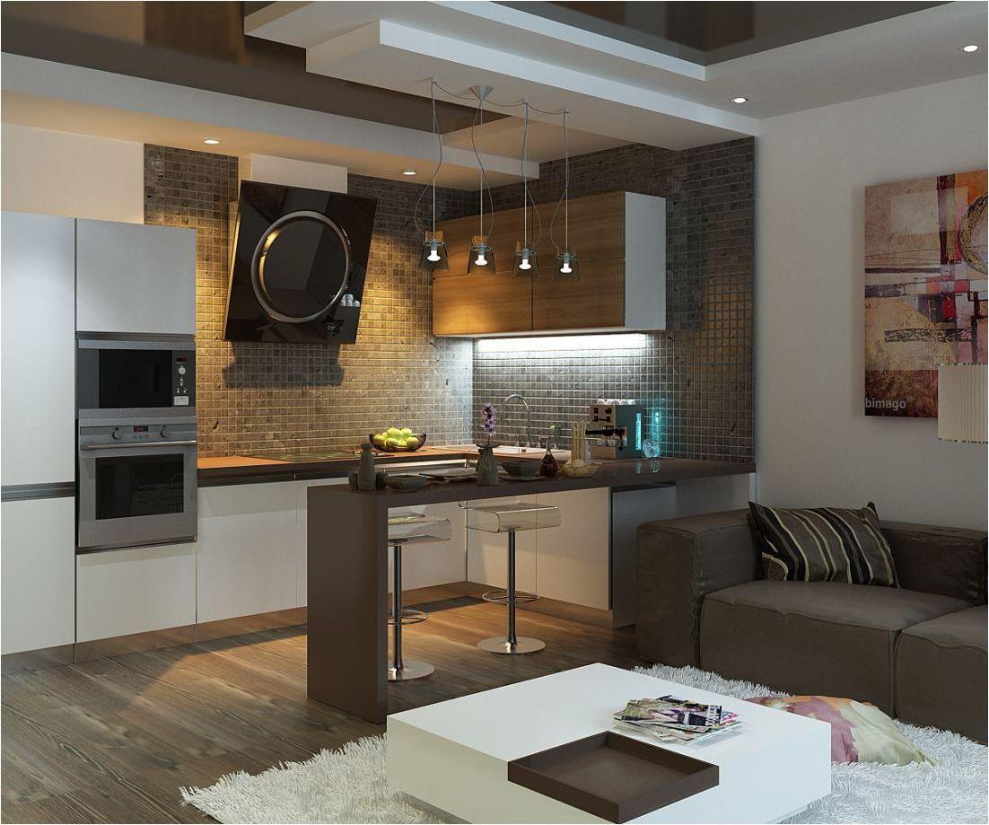 функционална кухня-хол