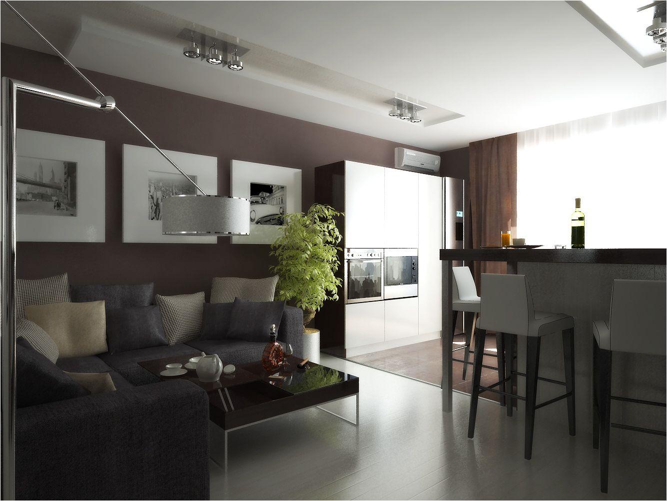 шоколадова кухня-хол