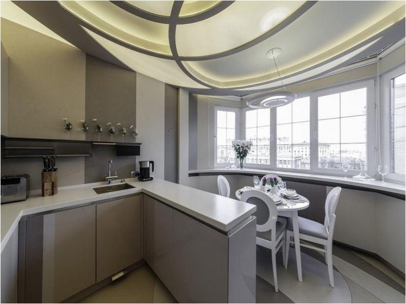 design élégant de cuisine moderne