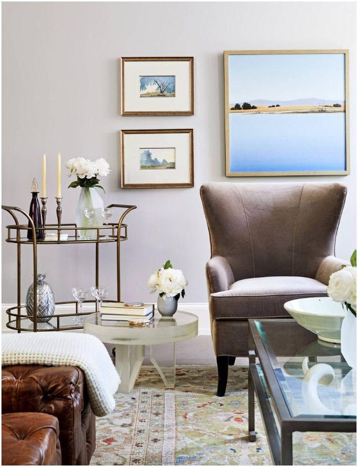 Stue 13 kvm. m: grunnleggende stiler og designregler for en liten stue