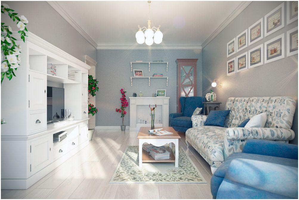 & quot; Хол в два цвята: снимки на оригиналния интериор & quot;