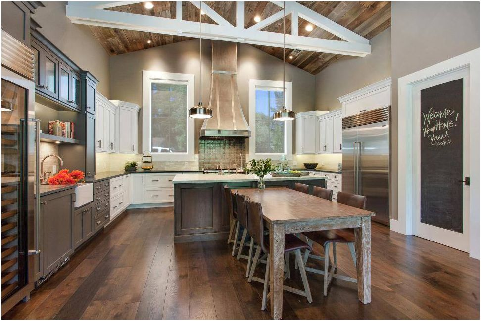 Кухня-хол 40 кв. m - най-добрият вариант за оформление за цялото семейство