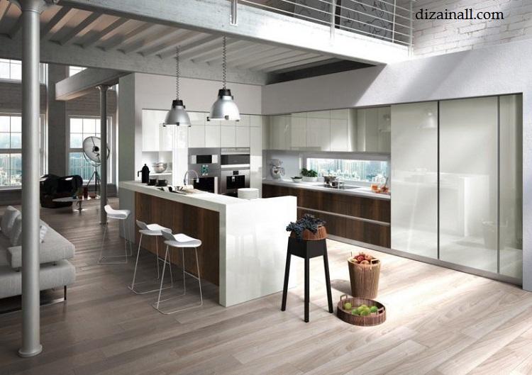Inredning för köket i stil med Bauhaus-16