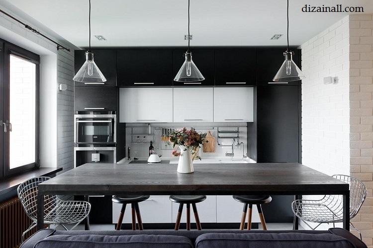 Inredning för köket i stil med Bauhaus-17