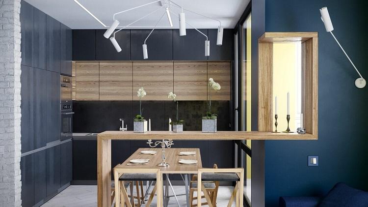 Inredning för köket i stil med Bauhaus-18