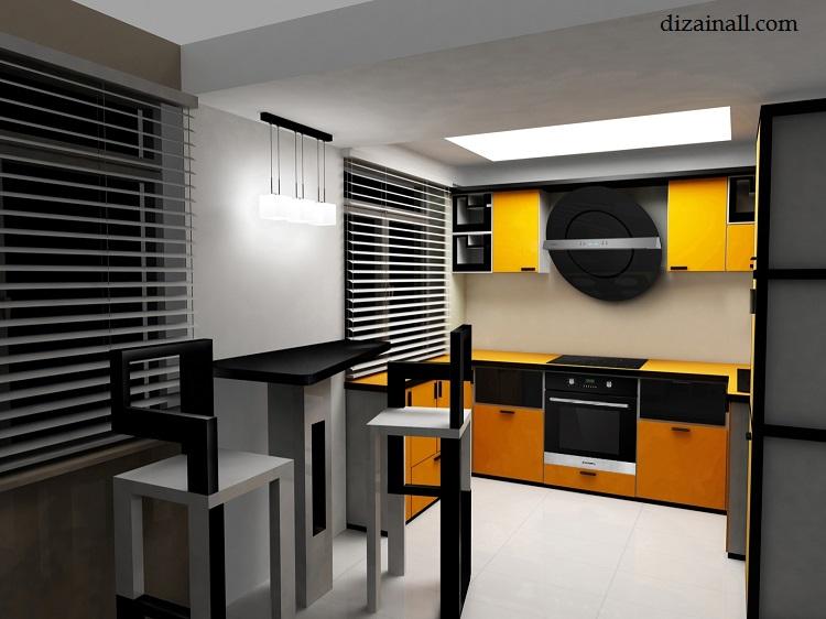 Inredning för köket i stil med Bauhaus-6