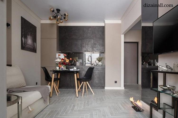 Inredning för köket i stil med Bauhaus-7