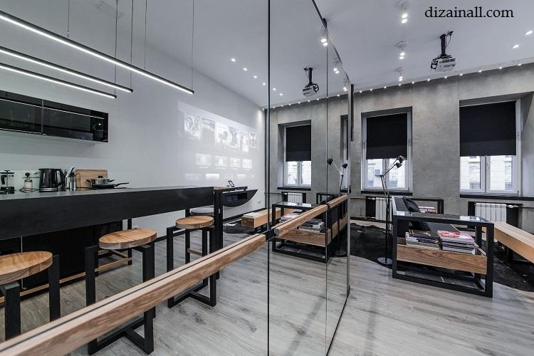 Inredning för köket i stil med Bauhaus-8