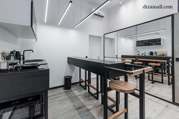 Inredning för köket i stil med Bauhaus-9