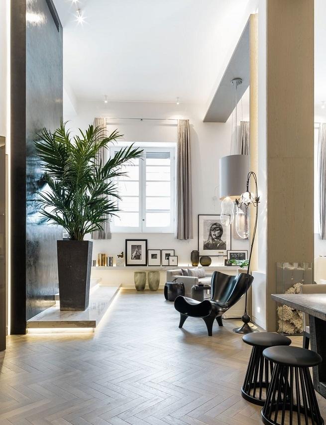 Nowoczesne wnętrze - najlepsze pomysły na projekt salonu 2020-1