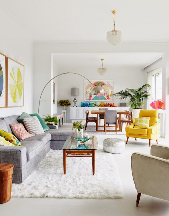 Nowoczesne wnętrze - najlepsze pomysły na projekt salonu 2020-13