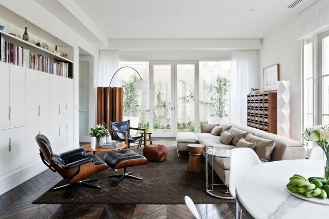 Nowoczesne wnętrze - najlepsze pomysły na projekt salonu 2020-15