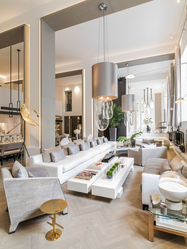 Nowoczesne wnętrze - najlepsze pomysły na projekt salonu 2020-2