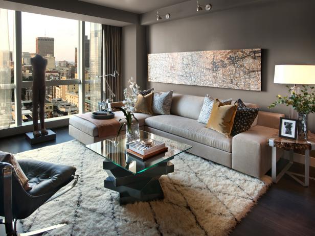 Modern belső tér - A legjobb nappali szoba ötletek 2020-37