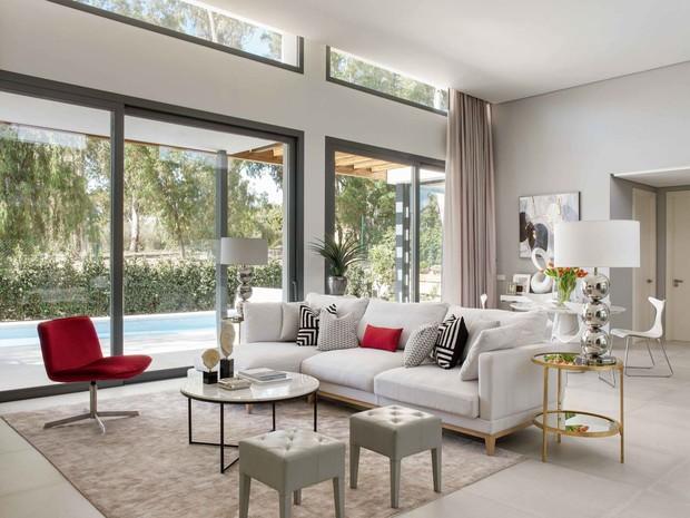 Nowoczesne wnętrze - najlepsze pomysły na projekt salonu 2020-4