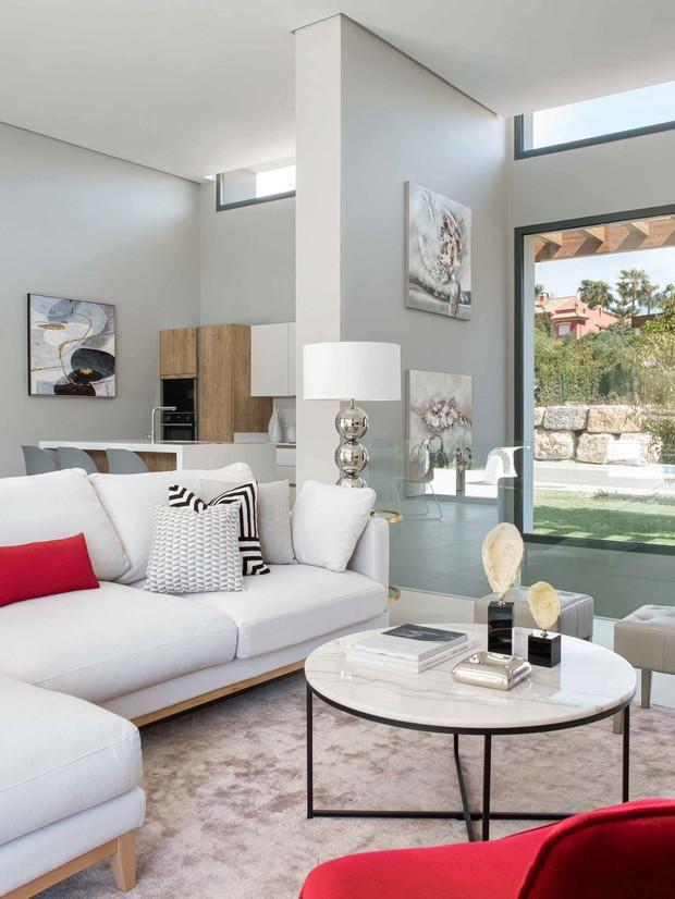 Nowoczesne wnętrze - najlepsze pomysły na projekt salonu 2020-6