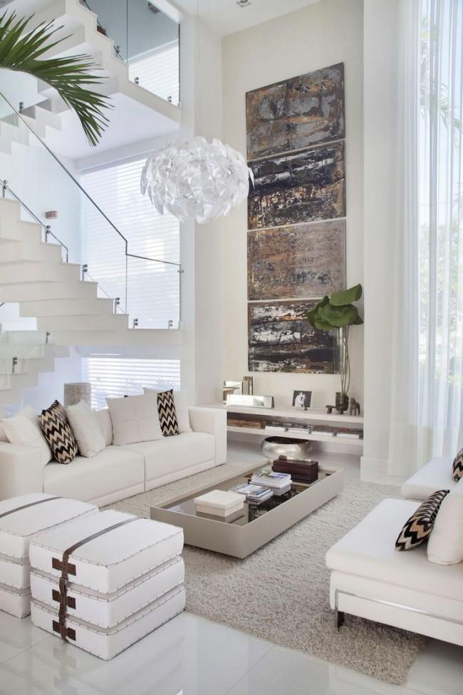 Nowoczesne wnętrze - najlepsze pomysły na projekt salonu 2020-9